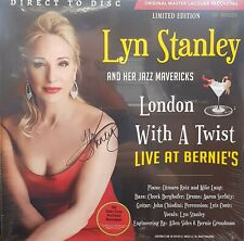 Lyn Stanley London With A Twist - Live At Bernie's Numbered Limited Autographed