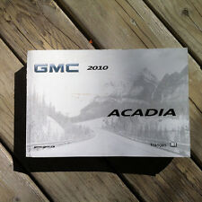 Gmc ACADIA - 2010 - Owner's Manual - IN FRENCH - XF