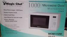 Magic Chef Mcm1110W 1.1 Cubic Feet Microwave with Digital Touch, 1000 W, White