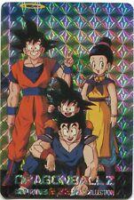 Goku Gohan Goten #233 Prism Foil Japanese Dragonball Z Card Hero Collection