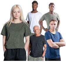 unisex Freizeitshirt MILANO II div. Farben S-XL Baumwoll Shirt premium