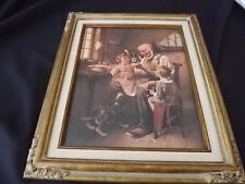 "Norman Rockwell ""The Toymaker"" Framed canvas reproduction With Authenticity Cert"