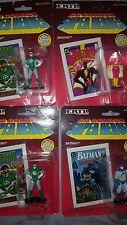 DC die metal die cast 1990. (2)Batman. Shazm. (2)Grn Lantrn (5) total