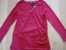 New Look Red Maternity Top Size 16