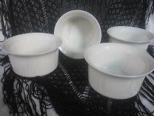 New listing Oneida Oven Brite Porcelain Ramekin Dishes Set of 4