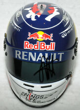 Sebastian Vettel Signed 2011 Japan GP Red Bull 1/2 Scale Helmet Replica - Proof