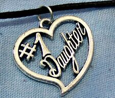 NO.1 _ DAUGHTER  ~  NECKLACE  -- (GREAT _CHRISTMAS_GIFT)