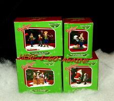 A Christmas Story Dept 56 FARKUS/LEG LAMP/RALPHIE SECRET DECODER/HIGBEE'S SANTA