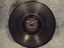 """78 RPM 10"""" Record Bob Sandy Dont Take It Out On Me & Youre Free To Go Tops R 272"""