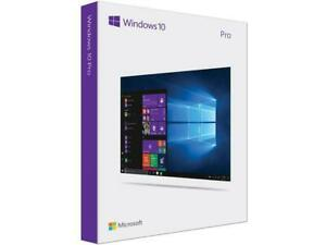 Microsoft Windows 10 Pro USB Drive 32/64 Bit Full Version (Brand New Retail)