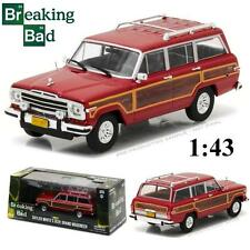 GREENLIGHT 86499 SKYLER WHITE'S JEEP GRAND WAGONEER BREAKING BAD DIECAST 1:43