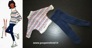 VINTAGE TRESSY AMERICAN CHARACTER - ensemble pull et pantalon - WINTER - #35902