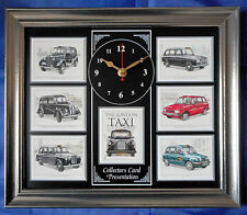 The London Taxi Stunning Collector Cards Wall Clock