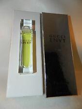 Gucci Envy Women Perfume .5 Oz Splash Pure PARFUM 15 ML EDT Rare Vintage HTF