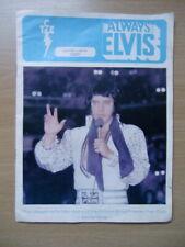 More details for always elvis - official elvis presley fan club magazine june-july 1981