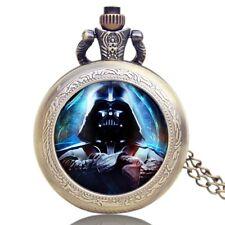 Steempunk Star Wars Darth Vader High-Quality Quartz Pocket Watch Boy Men Cool