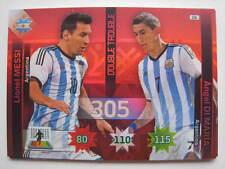 235 MESSI Di Maria Double Trou CARD PANINI Adrenalyn XL Chile 2015 Copa America