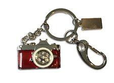 Kamera Cam aus Metall rot/silber - USB Stick 8 GB Speicher / USB Flash Drive