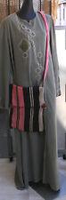 Handmade Black Moroccan Carpet Crossbody Shoulder Bag Bohemian Bag Abaya