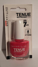 Vernis à Ongles Tenue Et Strong Pro 180 Rose Fuchsia Gemey Maybelline
