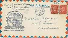 Canada Cover Aviation Postal Stamps