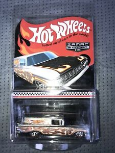 Hot Wheels Collector Edition, ZAMAC '59 CHEVY DELIVERY with REAL RIDERS, 2016