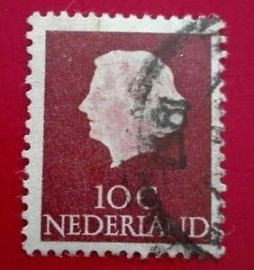Netherlands:1953 Queen Juliana 10 C. Rare & Collectible Stamp.