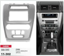 CARAV 11-302 2-DIN Car Radio Dash Kit panel for FORD Fusion 2009-2012 (Silver)