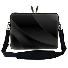 "17.3"" Laptop Computer Sleeve Case Bag w Hidden Handle & Shoulder Strap 1602"