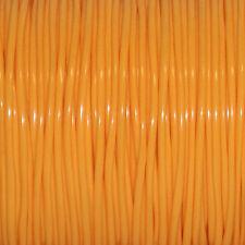 50 YARDS (45m) SPOOL NEON TANGERINE S'GETTI REXLACE PLASTIC LACING CRAFTS