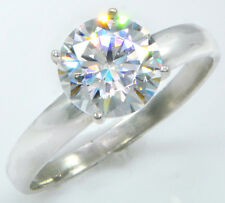3 ct Extra Brilliant Ring Handmade Top Cz Imitation Moissanite Simulant 5
