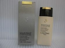 LANCOME MAQUIMAT ULTRA NATUREL MATTE FOUNDATION 1.0 oz / 30 ML Beige III In Box
