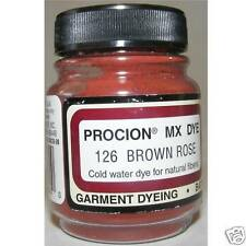 JACQUARD PROCION DYES BROWN ROSE FABRIC PAINTING