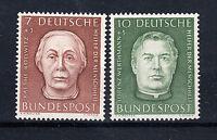BRD Briefmarken 1954 Helfer der Menschheit Mi.Nr.200+1 ** postfrisch
