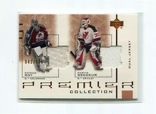 2001-02 UD Honor Roll Honor Society #HSRB Patrick Roy/Martin Brodeur  043/100