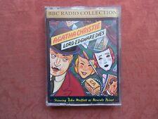 Audio Book Cassette - Lord Edgware Dies - Agatha Christie