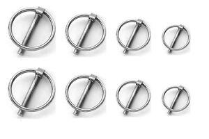 Klapp-Splint Ring 40 - 43 mm Bolzen 4,5 - 11 mm Sicherung Klappstecker 15123