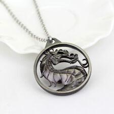 Mortal Kombat necklace dragon vintage pendant L