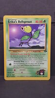 Erika's Bellsprout 38 Gym Challenge Uncommon Pokemon Card Near Mint