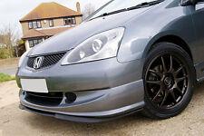 Honda Civic Si SiR Front Bumper CUPRA R Euro Spoiler Lip Valance Splitter 02-05.