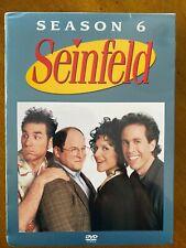 Seinfeld - Season 6 (DVD, 2005, 4-Disc Set) FREE SHIPPING