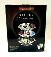 Keurig 2.0 Carousel-Display/Storage Holds 24 K-Cup or K-Carafe Packs