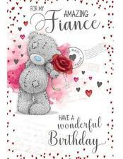 ME TO YOU FOR MY AMAZING FIANCE BIRTHDAY CARD TATTY TEDDY BEAR NEW GIFT