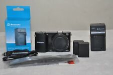 Samsung NX1000 20.3MP Digital Camera - Black - Body + Accessories!!