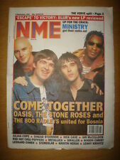 NME 1995 SEP 9 OASIS STONE ROSES BLUR VERVE METALLICA