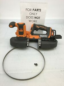 RIDGID R8604 18-Volt Compact Band Saw (Tool Only), P