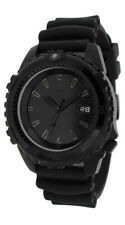 Momentum Deep 6 Vision All Black Scuba Dive Watch w/ Polyurethane Dive Strap
