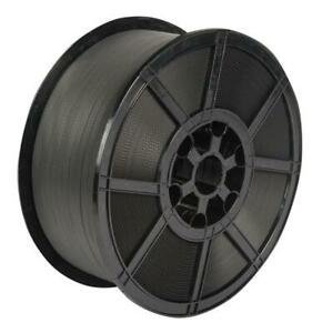 MSTT45 12mmx1500m Black Polypropylene strapping reel - FREE NEXT DAY DELIVERY