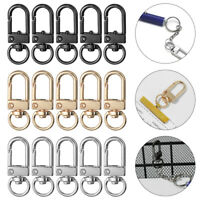 KeyChain Split Ring Collar Carabiner Snap Hook Bags Strap Buckles Lobster Clasp