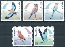 Namibia - Rackenvögel Satz postfrisch 2017 Mi. 1575-1579